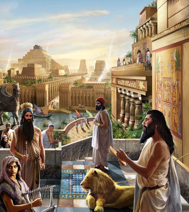 Persian clipart mesopotamian Recontrucción Babilonia antigua Mesopotamia la