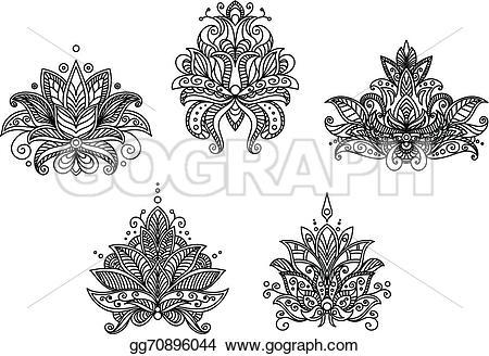 Persian clipart paisley Art Vector motifs gg70896044 persian