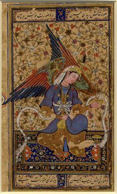 Persian clipart peri Painting after Fairy Ahmed original