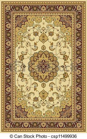 Persian clipart rug Art Pattern  Border Carpet