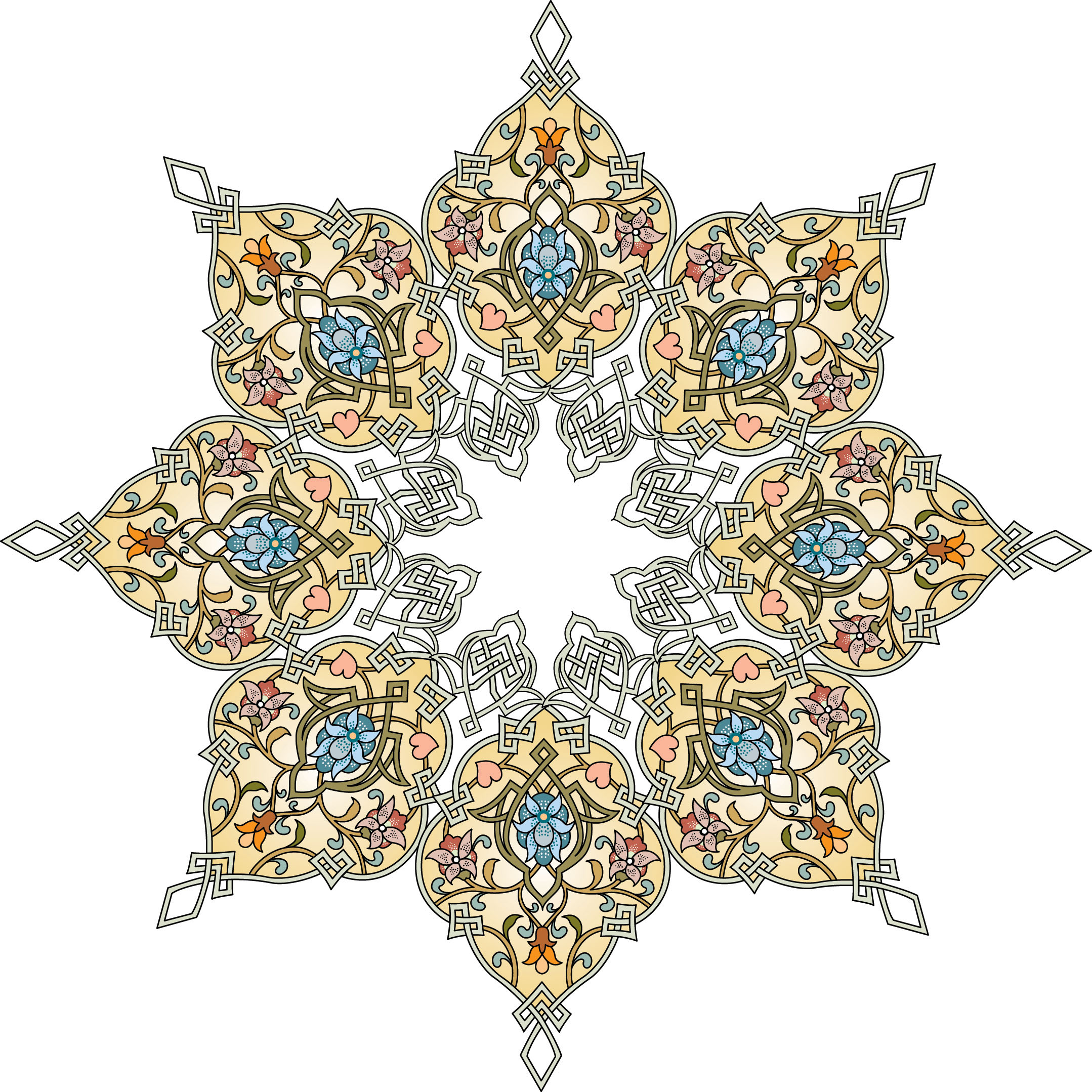 Persian clipart traditional Persian Google patterns Islamic søgning