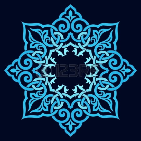 Persian clipart traditional Traditional Pattern Turkish Arabic Vector