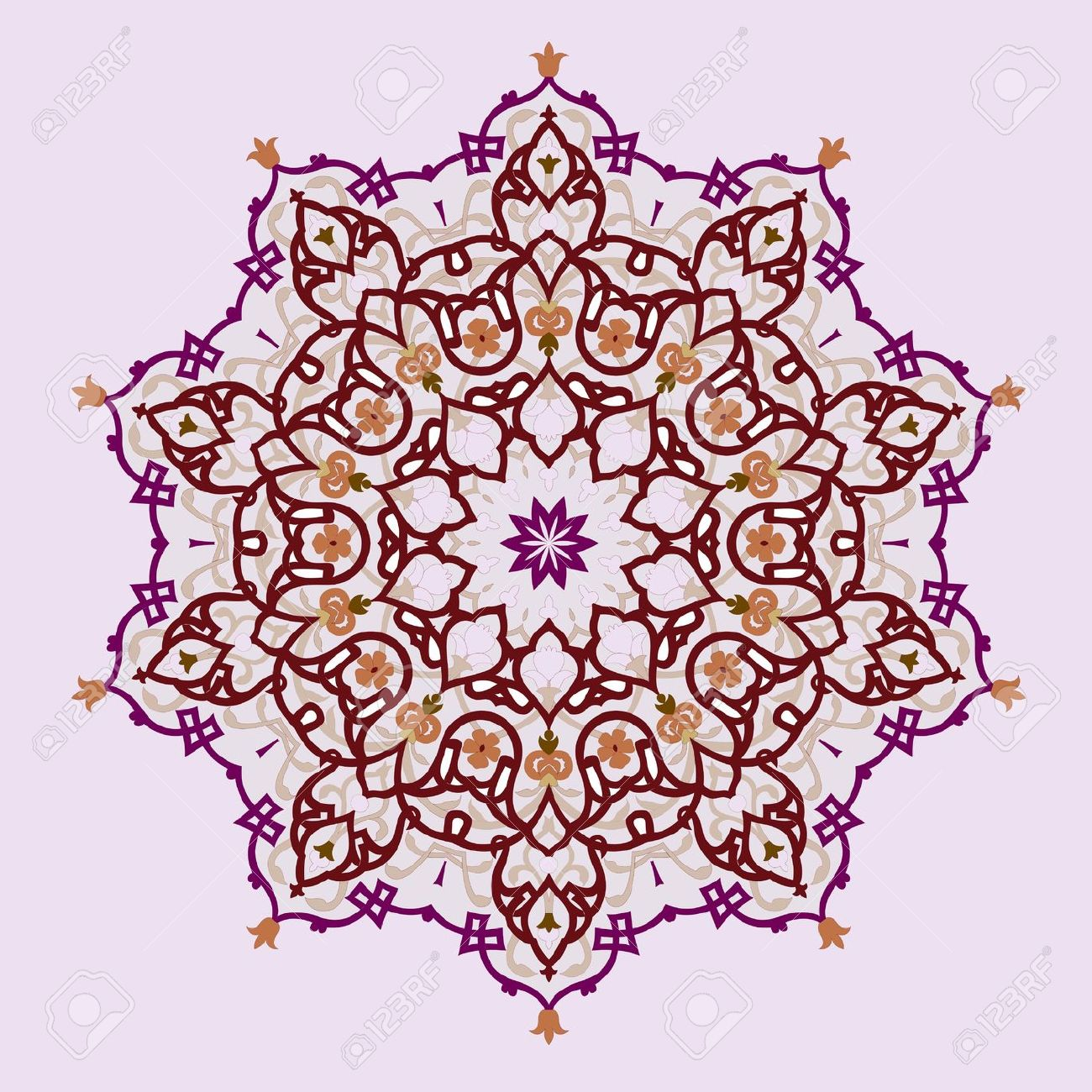 Persian clipart traditional Royalty Of Pattern Arabic Turkish