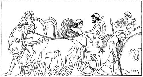 Persian clipart trojan war War World trojan with Popa