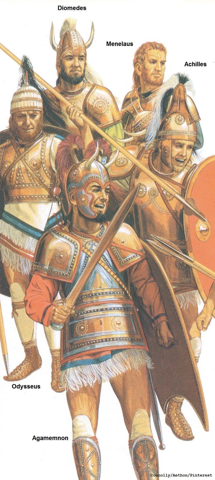 Persian clipart trojan war Greek/Achaean Iliad: The Diomedes war
