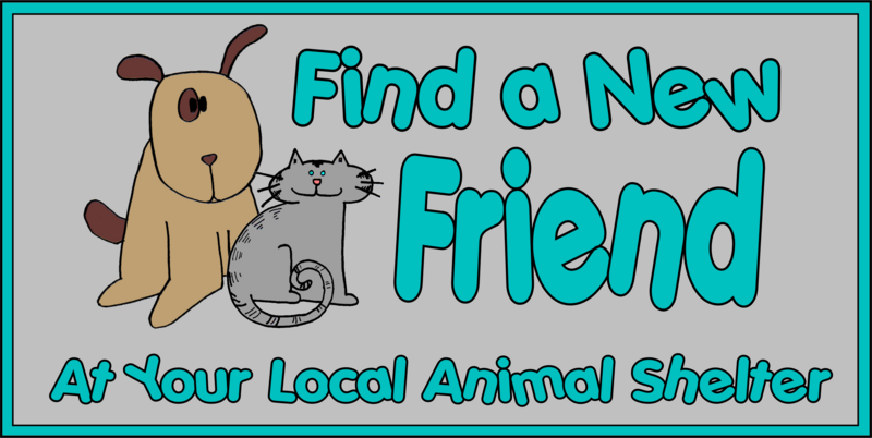 Pet clipart animal rescue Adoption  County Township Animals