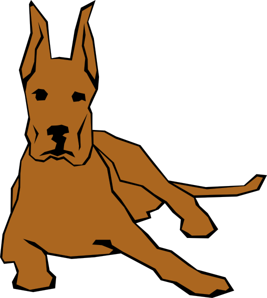 Larger clipart big dog Collections Free free Clipart Clip