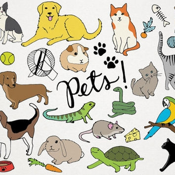 Pet clipart blue animal Download animal clipart Art Live