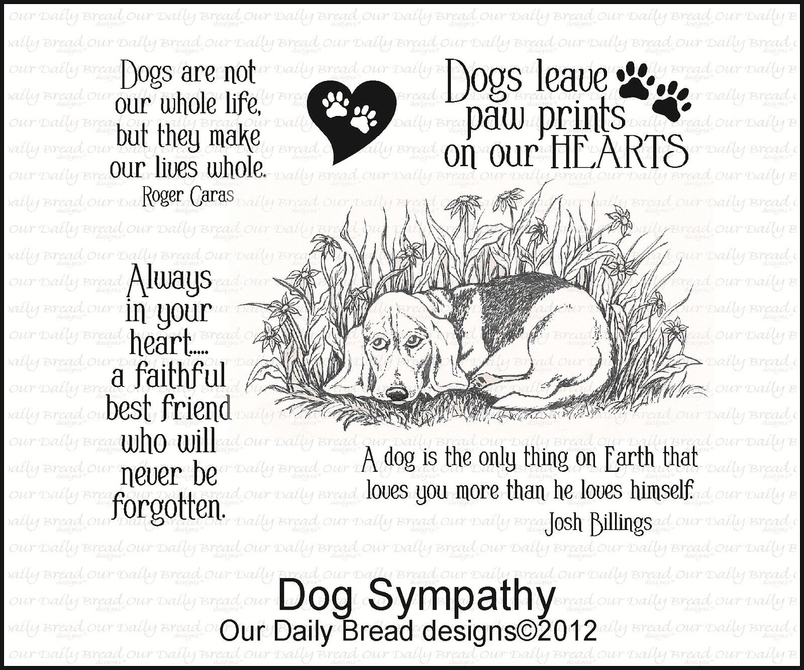 Pet clipart died The Sympathy Sympathy Dog