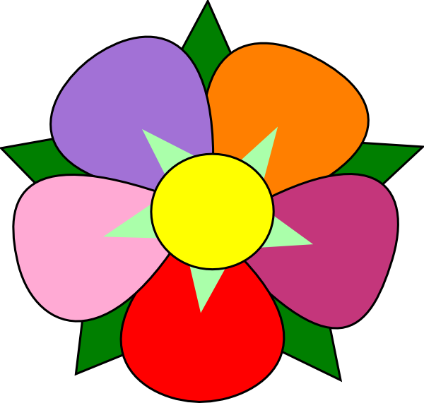 Petal clipart Clipart Petal Art Flower Art