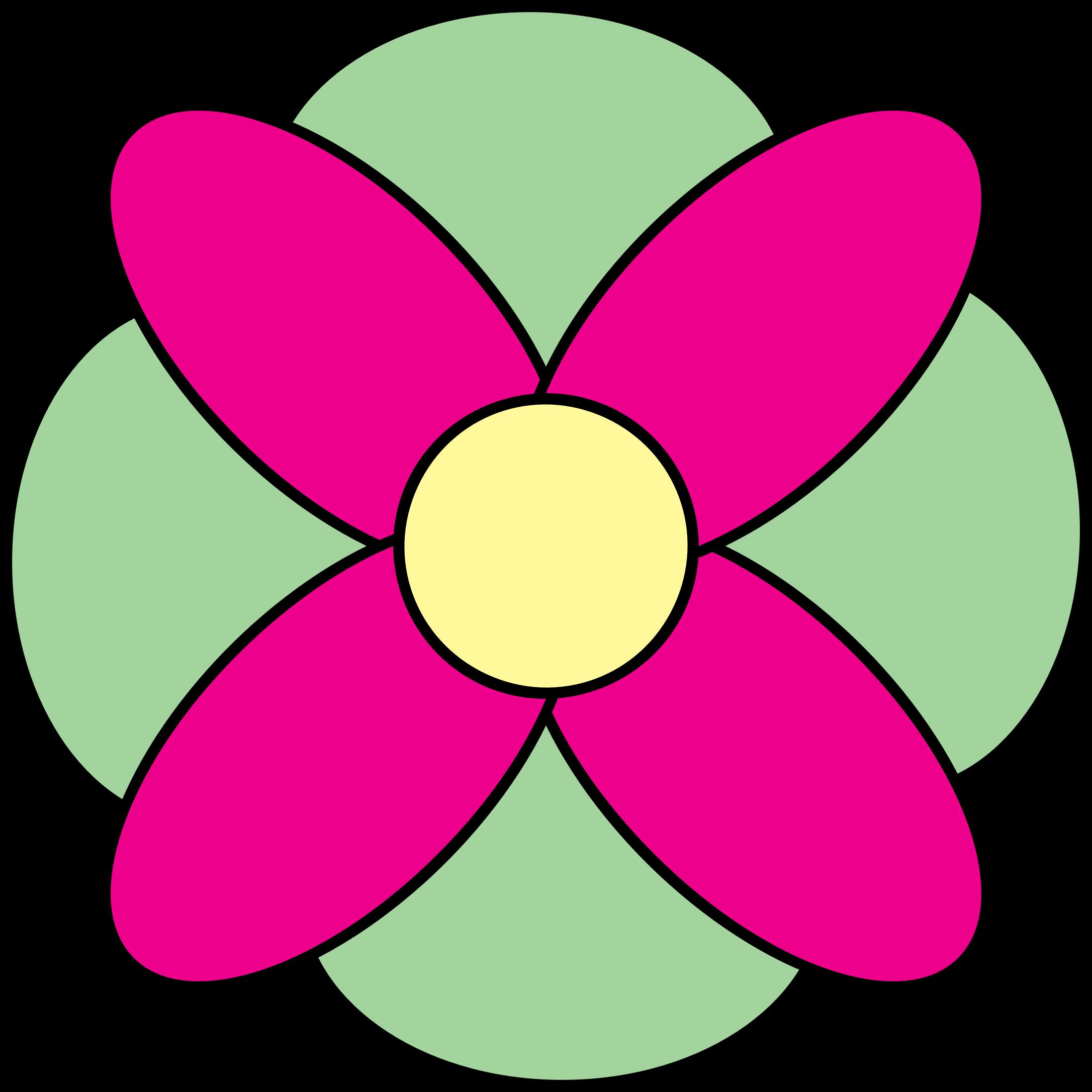 Petal clipart big flower IMAGE Clipart (PNG) Flower 4