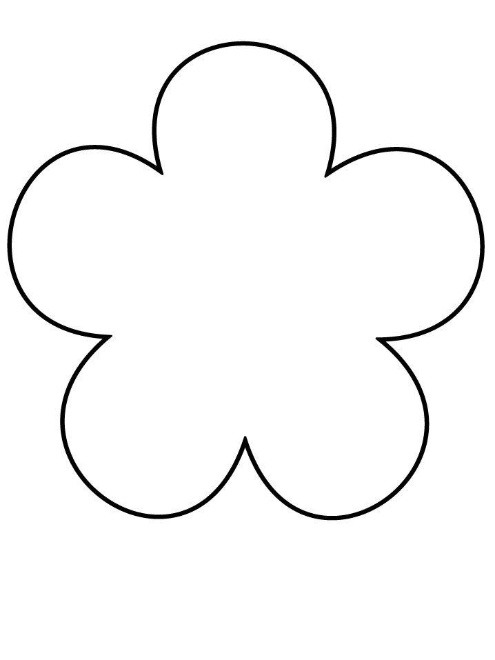Petal clipart felt flower Flower @Chrystal Paper flowers could
