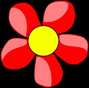 Red Flower clipart flower head Flower clip online Art Art