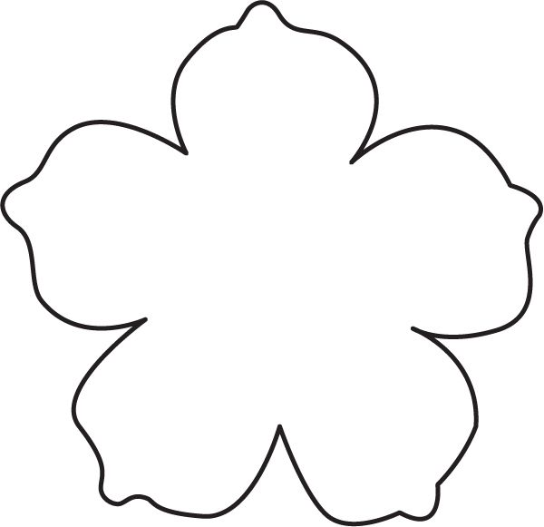 Petal clipart flower shape Ideas summer leather like will