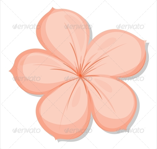 Petal clipart flower template Free Template Download PDF Flower