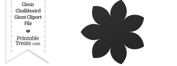 Petal clipart giant flower Clean Petal Giant  —