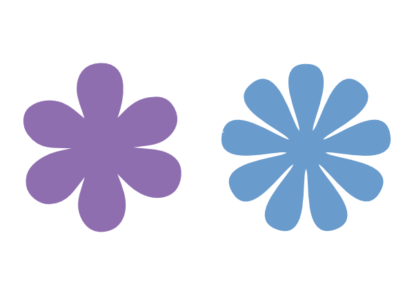 Petal clipart one flower Able to Y template one
