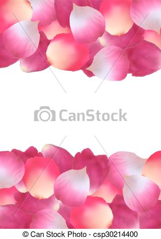 Petal clipart pink rose Illustration  Pink rose rose