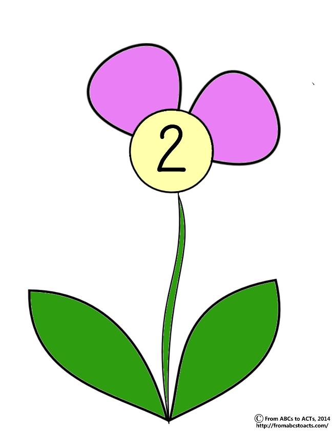 Petal clipart preschool Preschool Flower ACTs to Activities