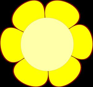 Petal clipart small flower Clker at clip Clip com