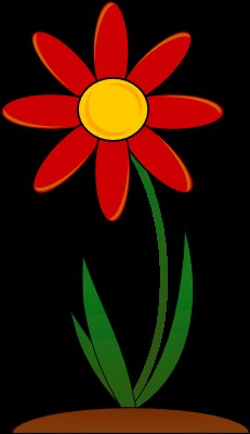 Petal clipart two Concentric this a of petals