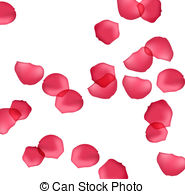 Petal clipart vector Petals and some free background