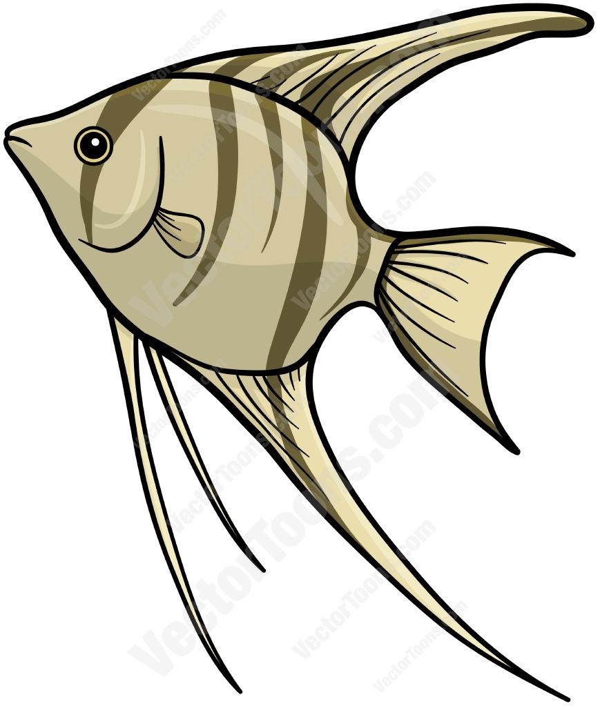 Angelfish clipart cartoon Clipart Angelfish Striped Clipart Cartoon