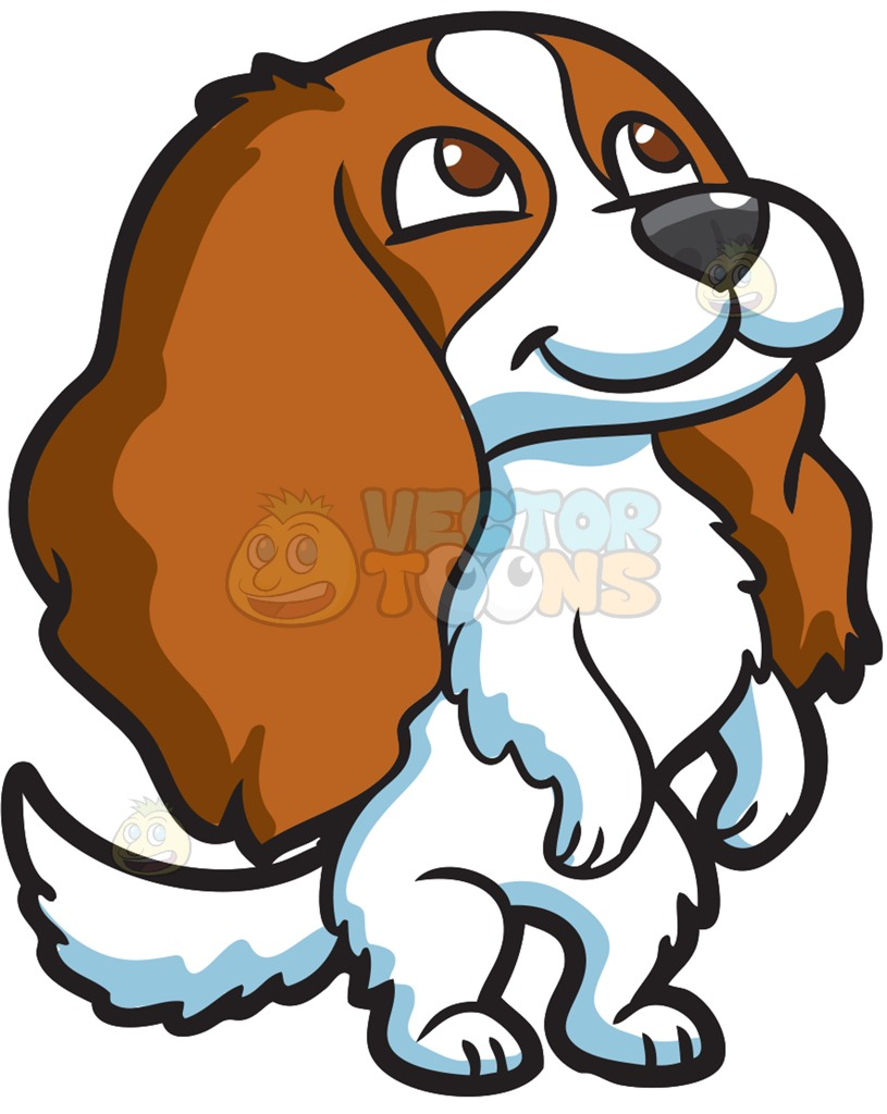 Pet clipart animal fur An  With Excited Beautiful