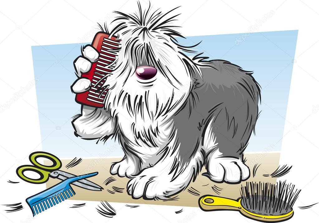 Pets clipart animal fur A — scribbles — ©