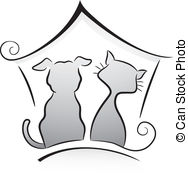 Pets clipart animal shelter Dog and 753 147 Cat
