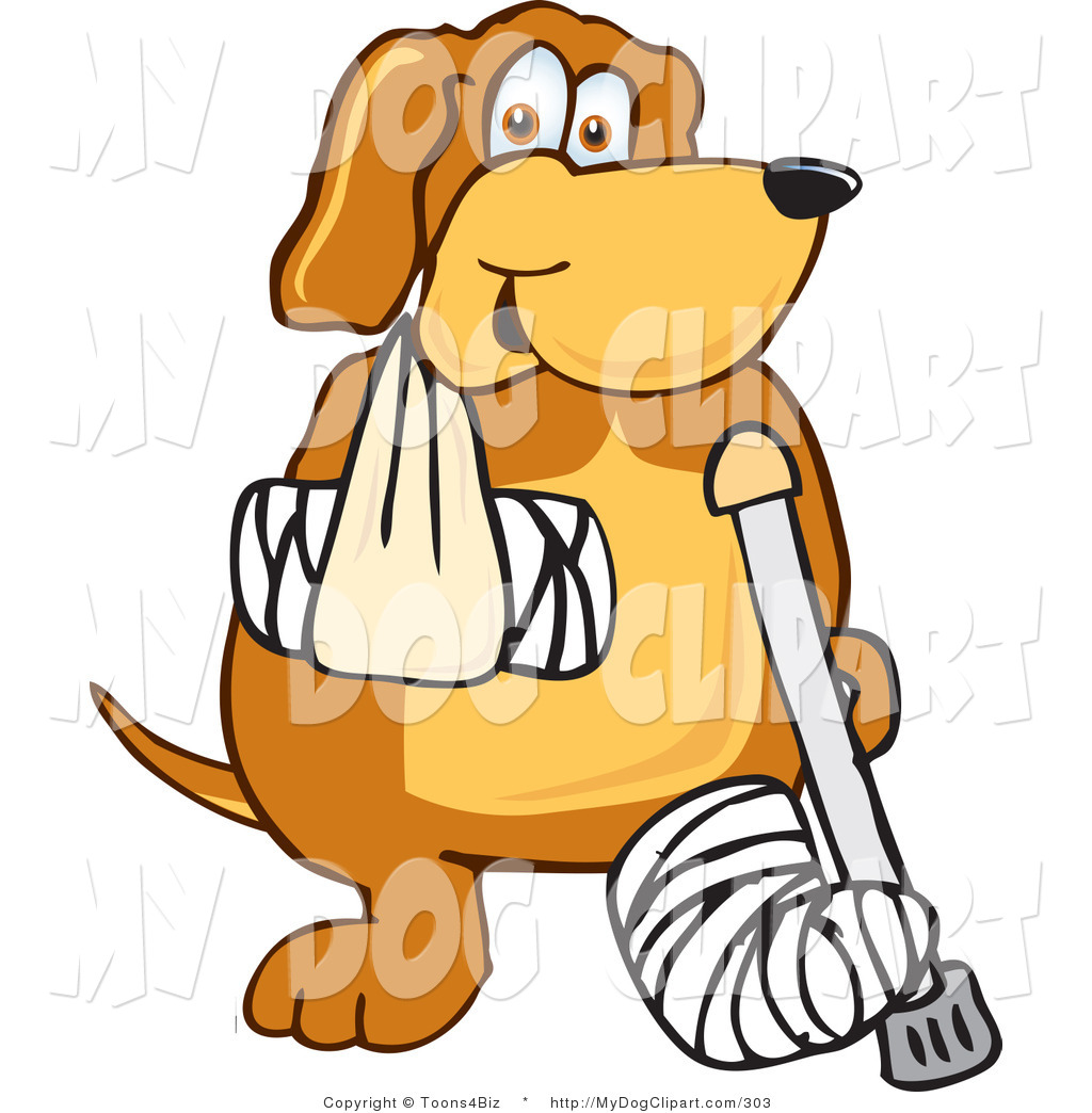 Pet clipart bandage Free Bandaged Arm with Royalty