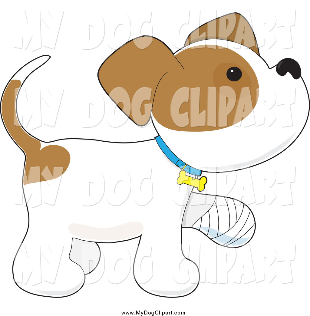 Pet clipart bandage Dogs a Puppy Dog with