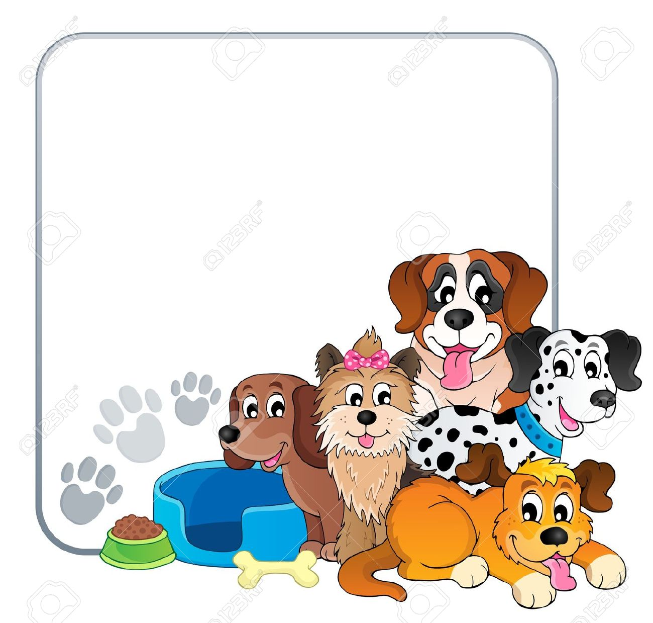 Pets clipart boarder Frames With Screensaver Border Pets