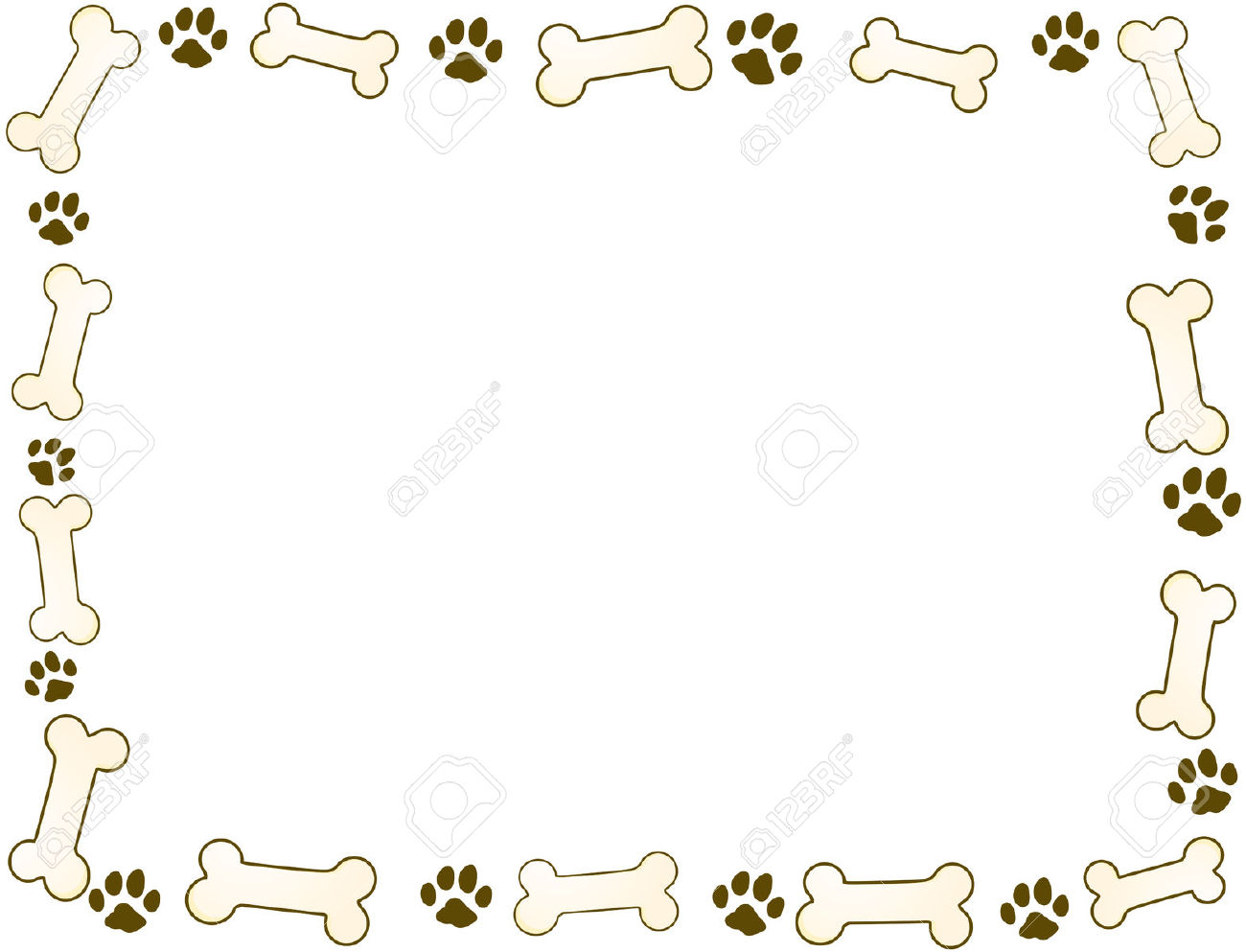 Pets clipart boarder Border With collection clipart Pets