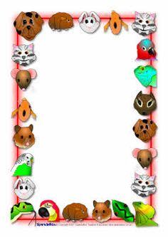Pets clipart boarder The school SparkleBox (SB7543) page