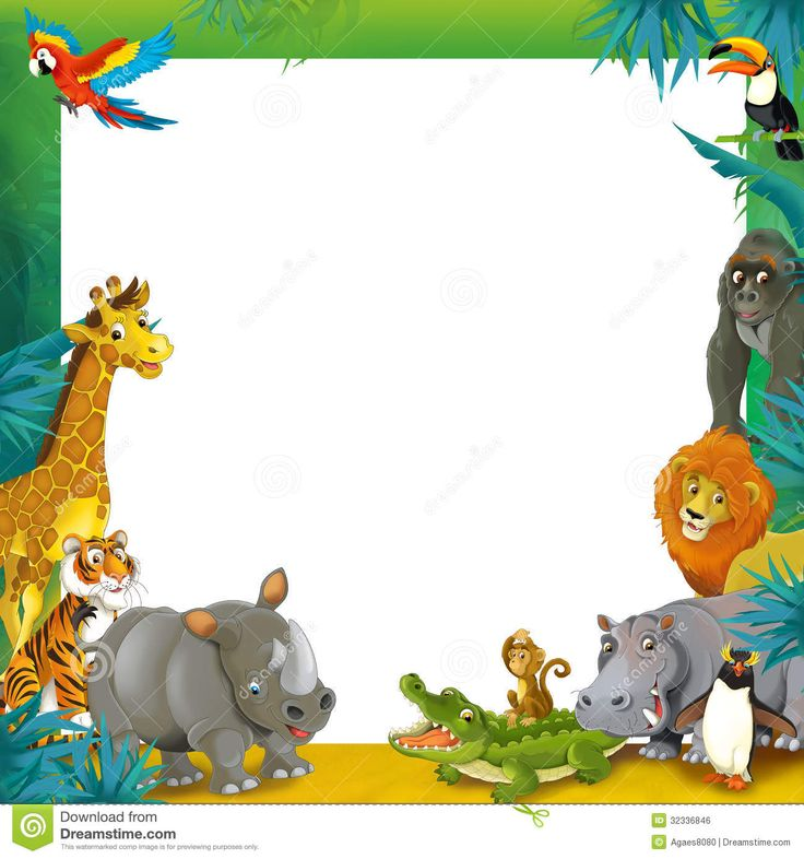 Zoo clipart border Clipart about 71 images border