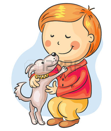Pets clipart boy dog Boy 7 and Stock With