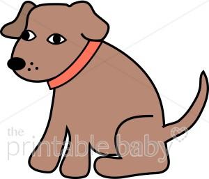 Animl clipart brown dog #13