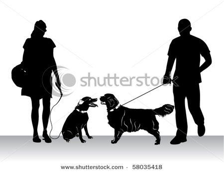 Pet clipart dog park Woman Picture Art Clip on