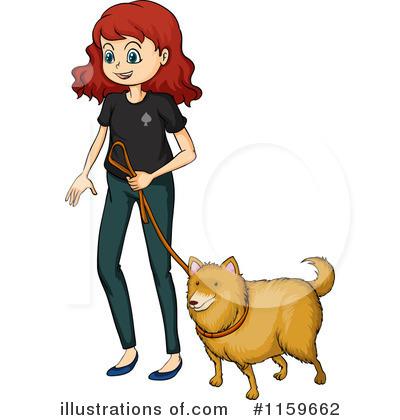 Pets clipart dog walking Royalty Illustration #1159662 Dog Illustration