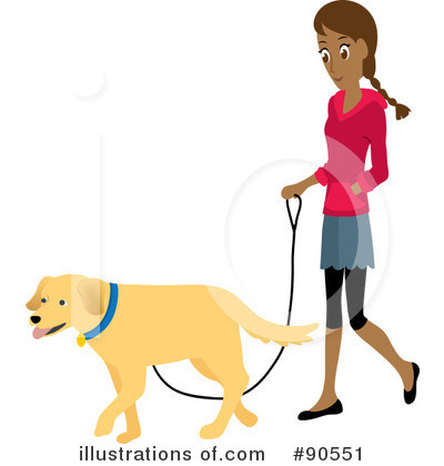 Pets clipart dog walking Royalty Clipart by Walker by