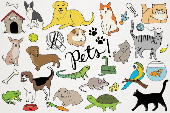 Pets clipart easy dog #6