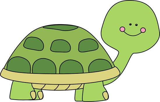 Simple clipart turtle #6