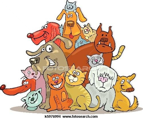 Pets clipart group pet Clipart Animals  of Group
