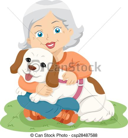 Hug clipart mama Of  csp28487588 Senior Senior