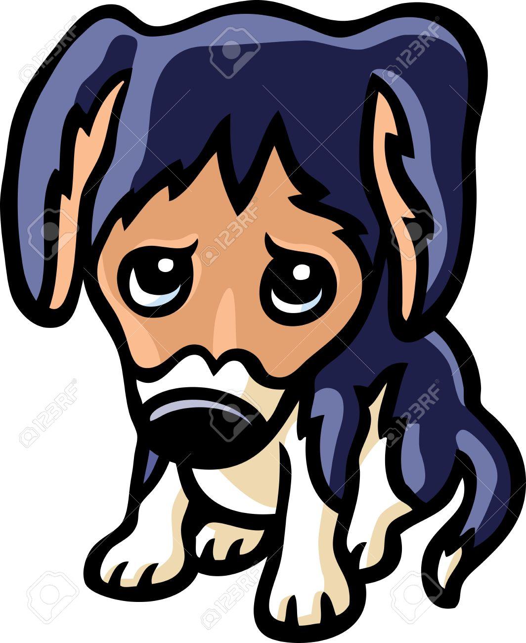 Pets clipart sad #10