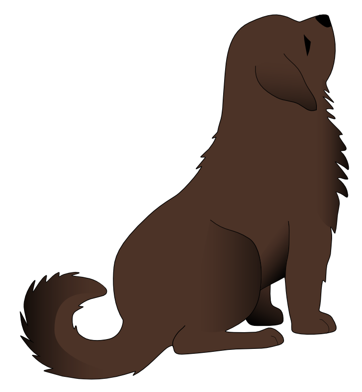 Pets clipart transparent Free Clip Clip Brown Free