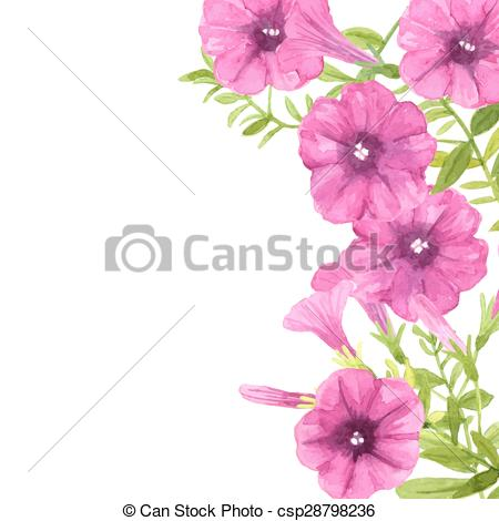 Petunia clipart And 370 flowers Petunia and