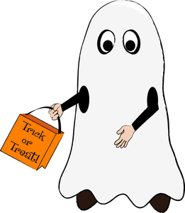 Ghostly clipart costume contest #1