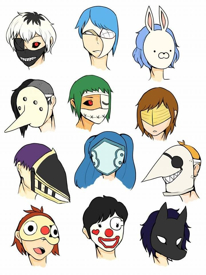 Phanom clipart ghoul Masks on Pinterest Ghoul images